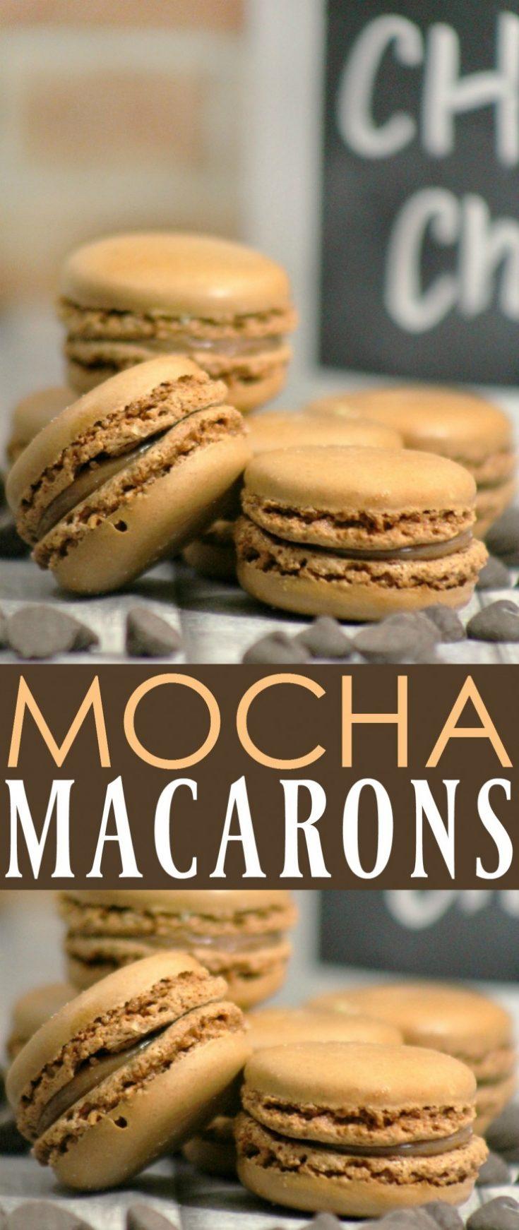 Mocha Macarons