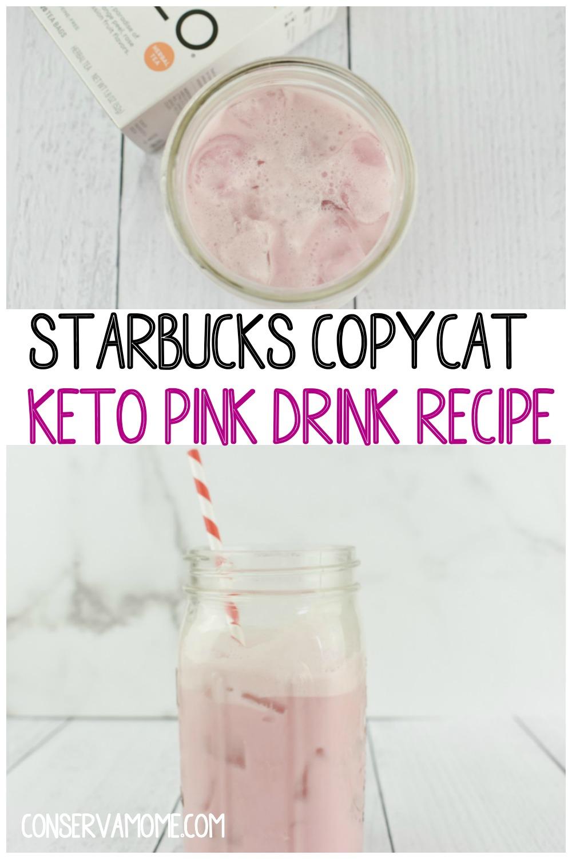 STARBUCKS COPYCAT KETO PINK DRINK RECIPE