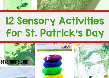 Sensory activities for St.Patrick's day