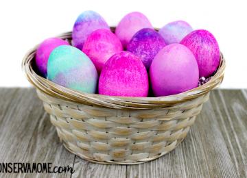 shaving cream easter eggs 2