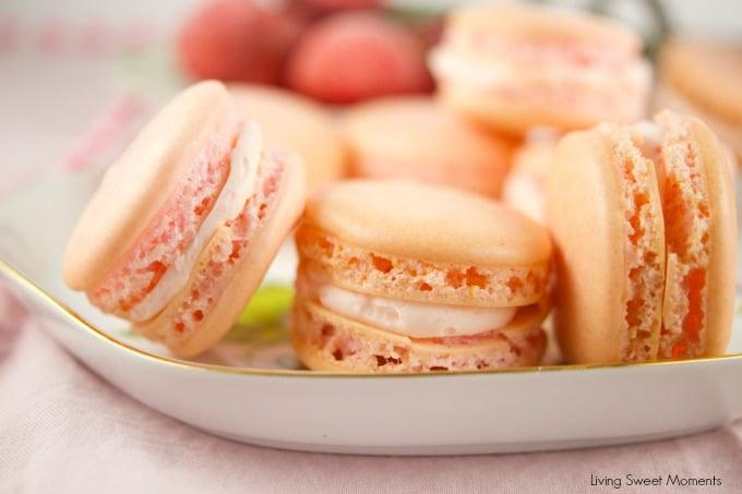 Crazy Good Strawberry Macarons