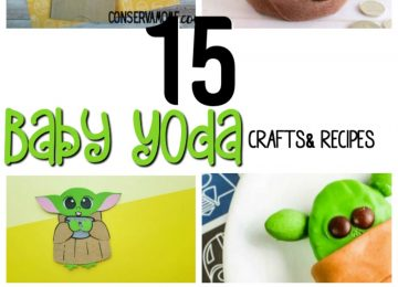 15 Baby Yoda Crafts & Recipe