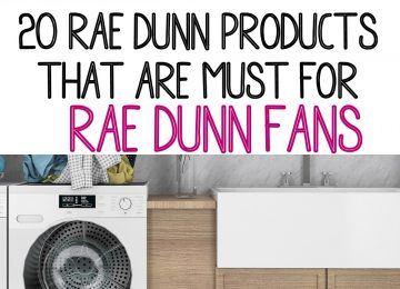 20 Rae Dunn Products that are Must have for Rae Dunn Fans.