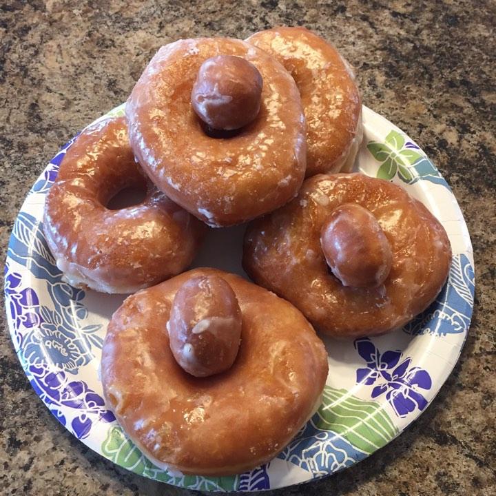 Homemade Blizzard Doughnuts Recipe
