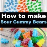 How to make sour gummy bears