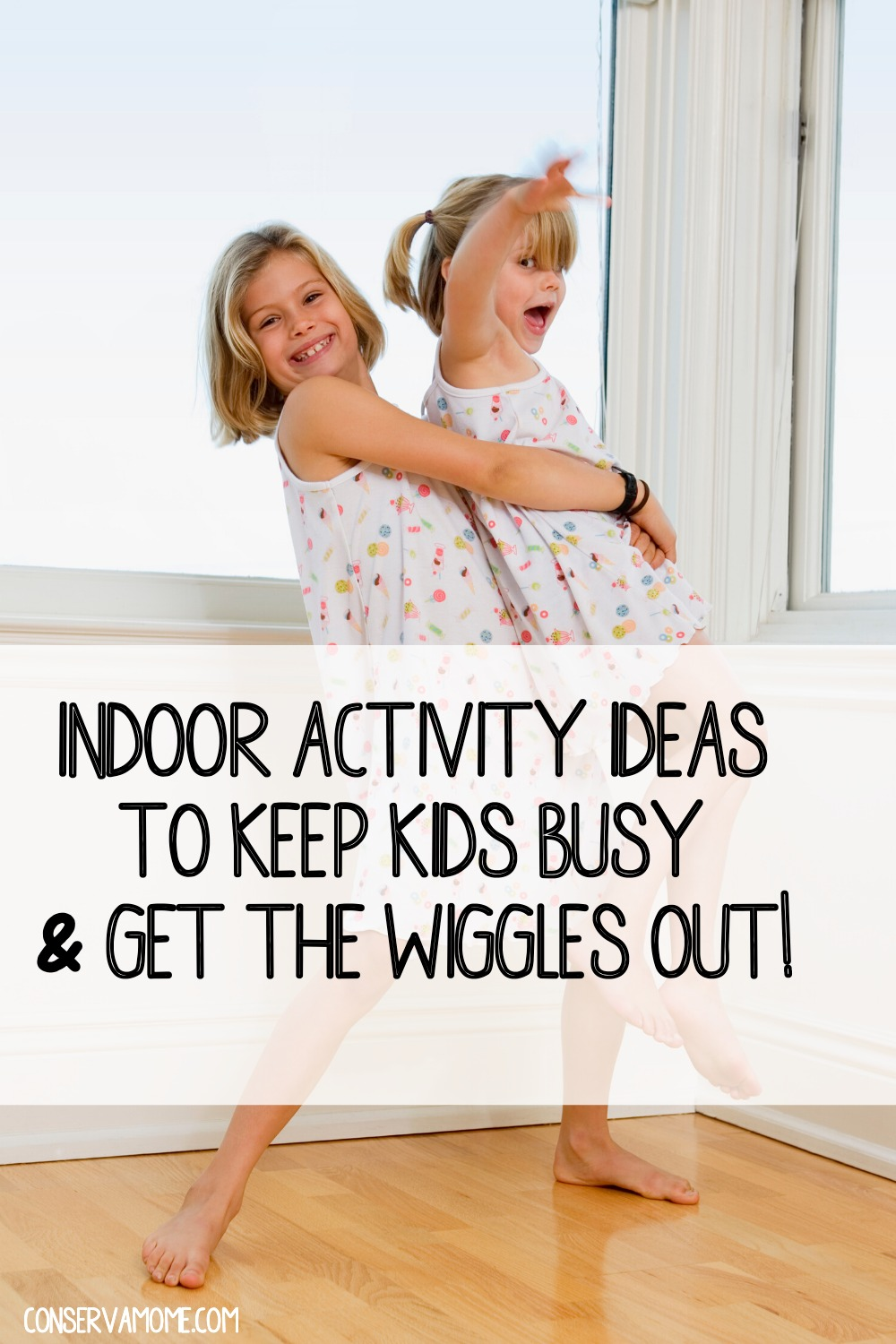 Indoor activity ideas to keep kids busy