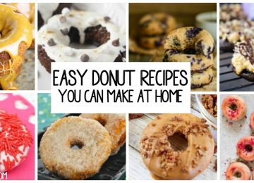 25 Easy Donut Recipes you can make at home