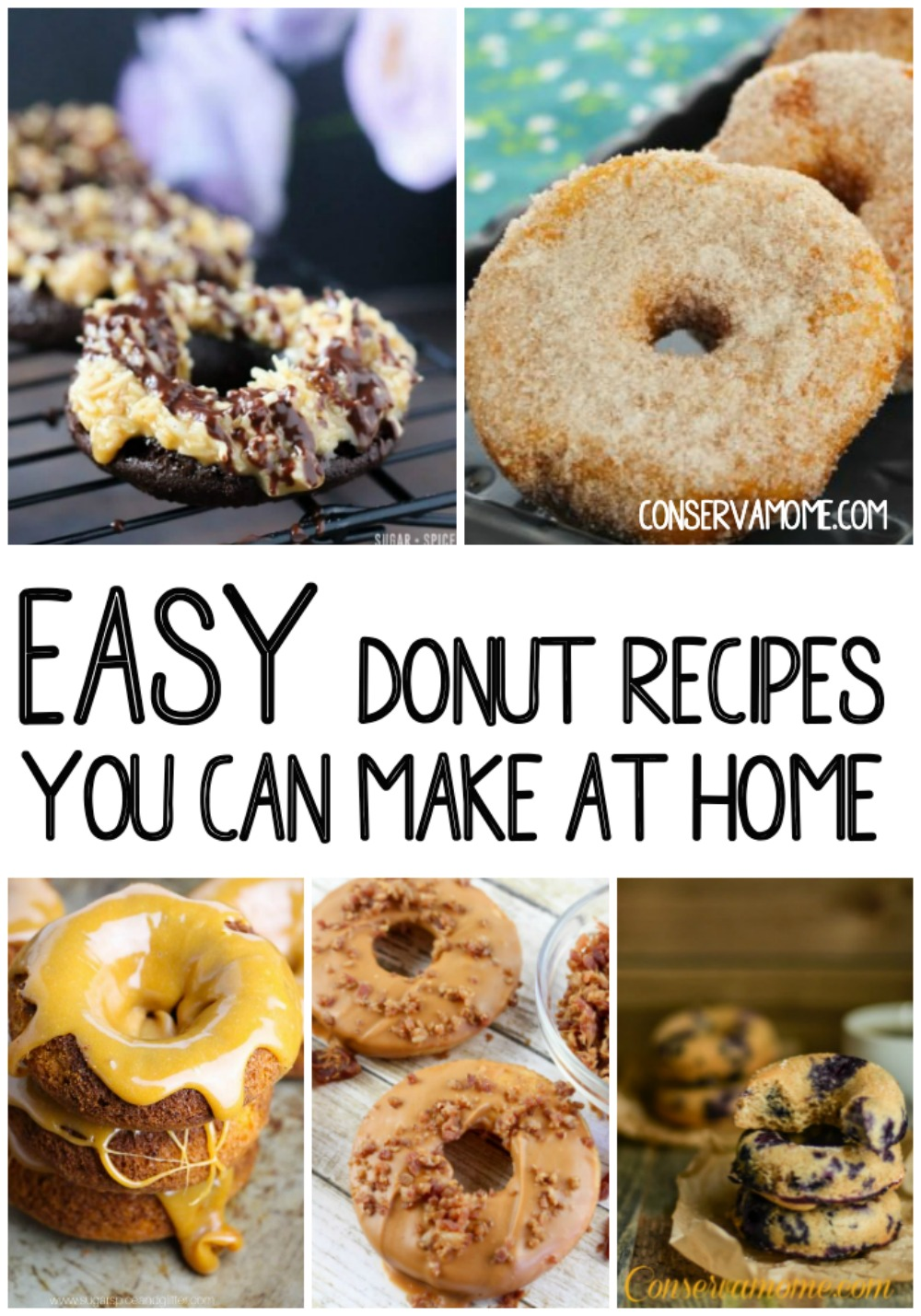 Easy donut recipes you can make at home