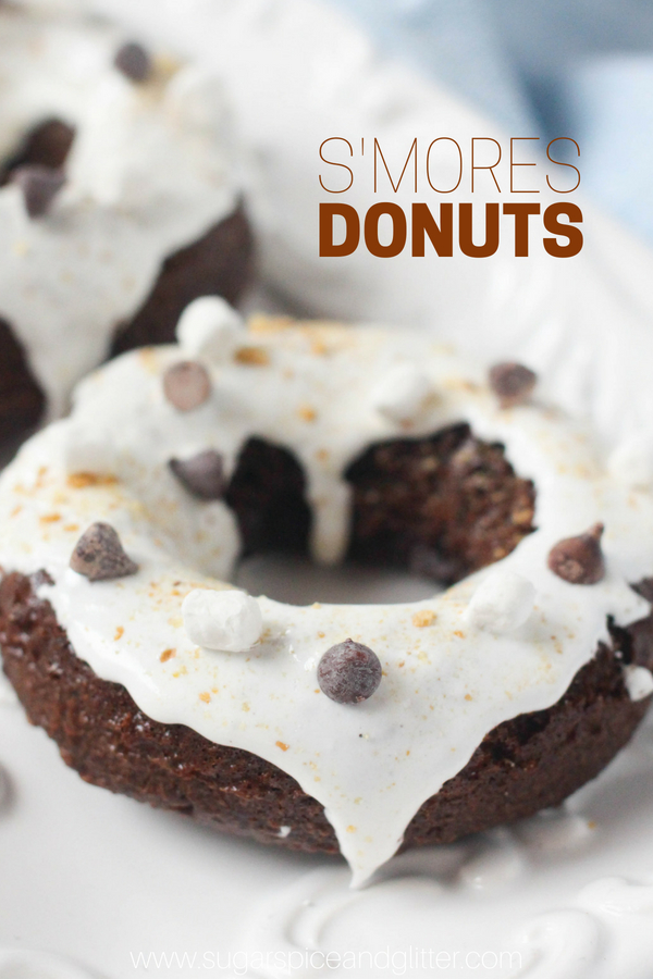 S'mores Donuts ⋆ Sugar, Spice and Glitter