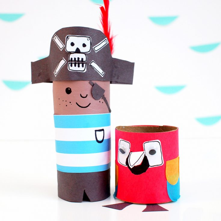 Meet Mr Pirate and Mr Parrot!