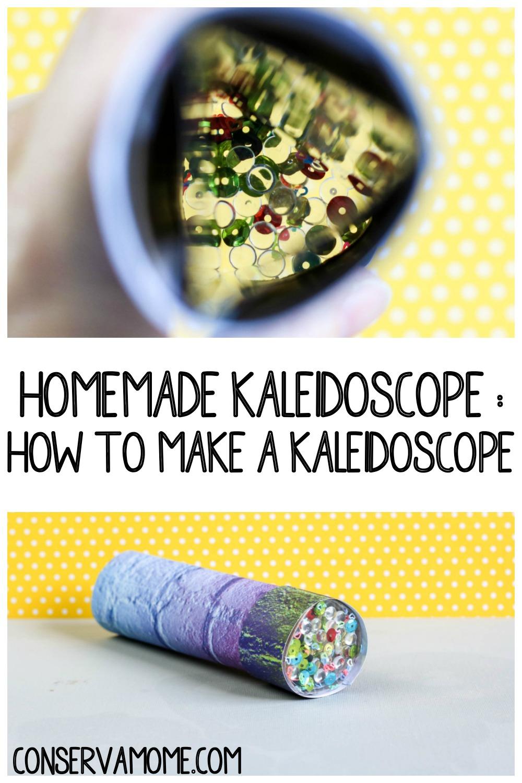 Homemade Kaleidoscope : How to make a Kaleidoscope