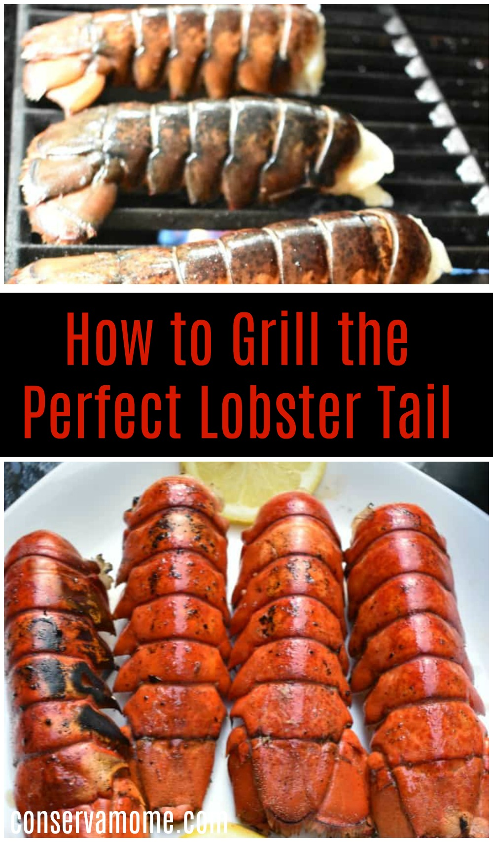 How to grill the perfect Lobster tail