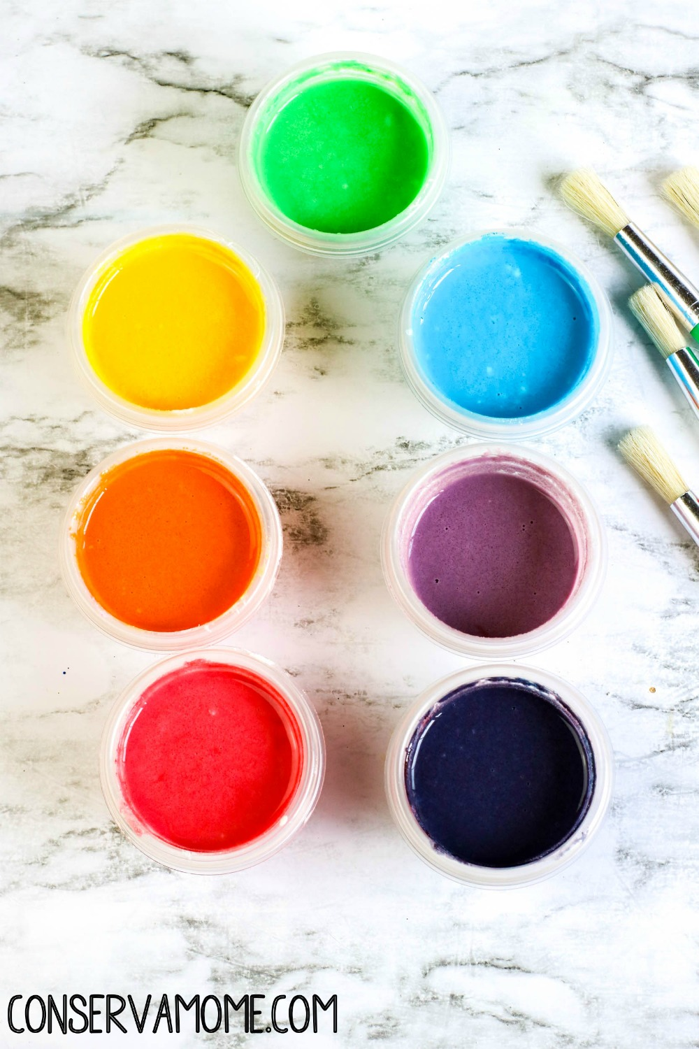 How to make Non-Toxic Homemade Kids Paint