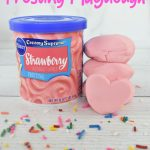 2 ingredient frosting playdough recipe