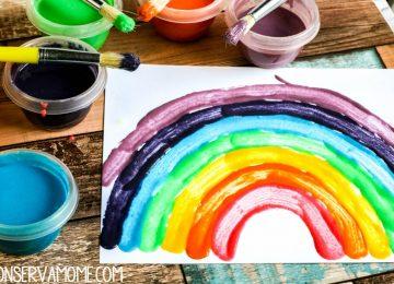 Homemade paint recipe for kids