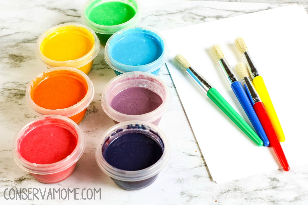 Homemade paint recipe for kids