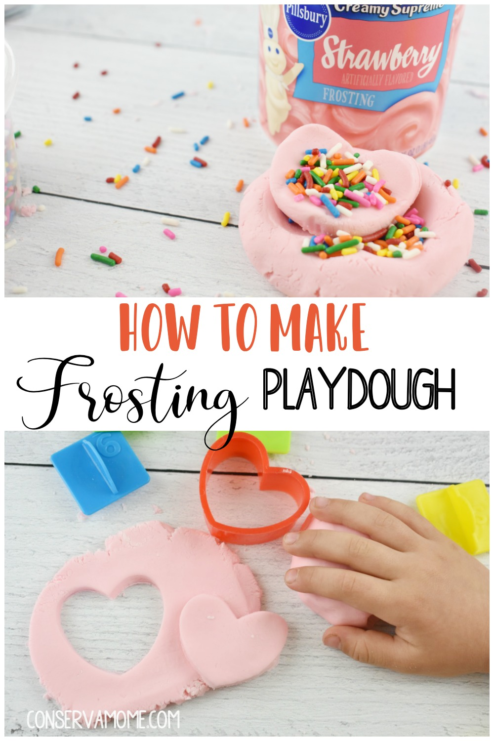how to make playdough from frosting