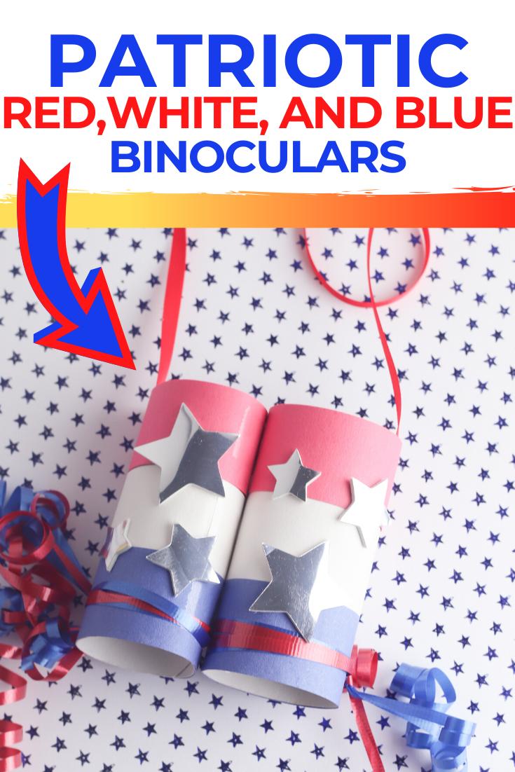 Patriotic Binoculars
