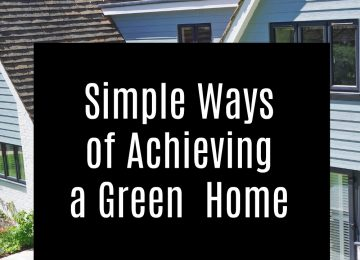 How to achieve a green home