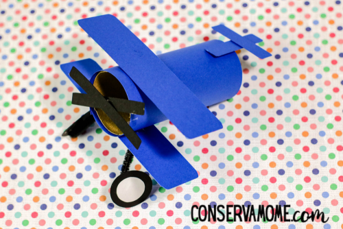 Airplane Toilet paper roll craft tutorial