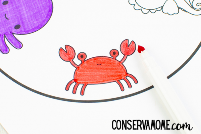 Sea Life Spinner:A Fun & Interactive Ocean Craft for Kids