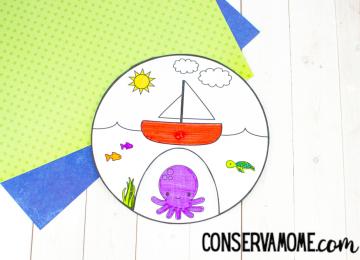Fun sea life craft