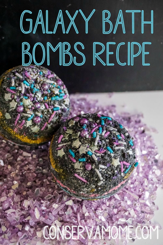Galaxy Bath Bombs recipe