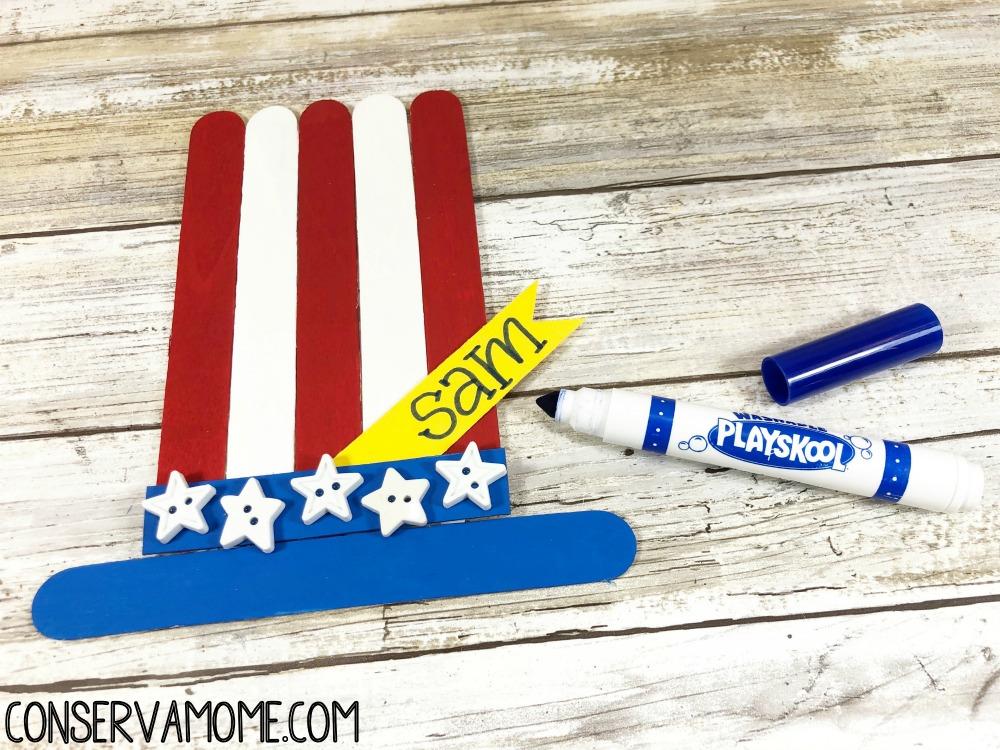 Patriotic Kids Craft