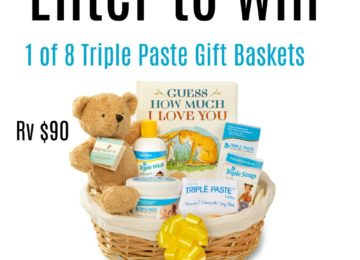 Enter to win 1 of 8 Triple Paste Gift Baskets