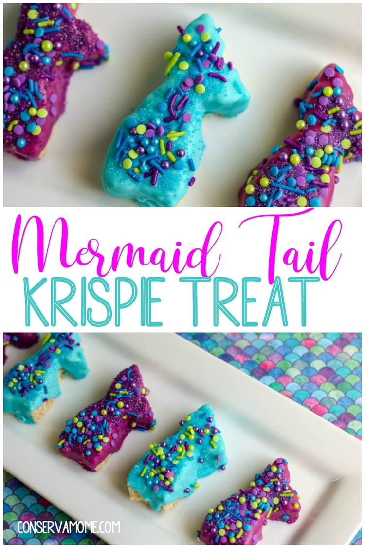 Mermaid Tail Krispie Treat