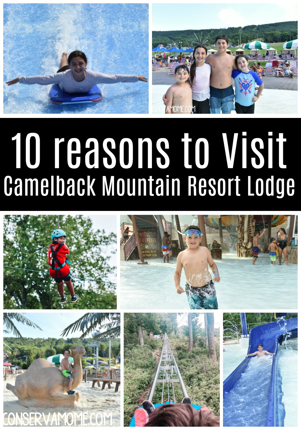 10 reasons to Visit Camelback Mountain Resort Lodge in the Poconos
