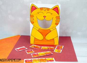 Early learning Cat feeding game