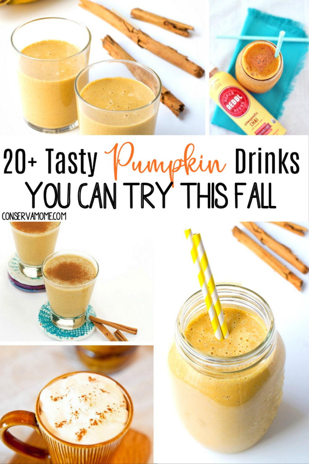 20+ Tasty Pumpkin Drinks you can try this fall