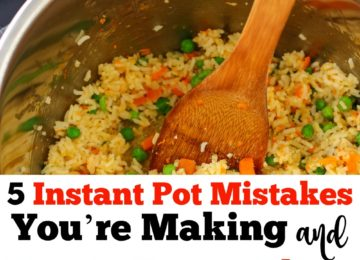 5 Instant Pot Mistakes You're Making and How to Correct Them