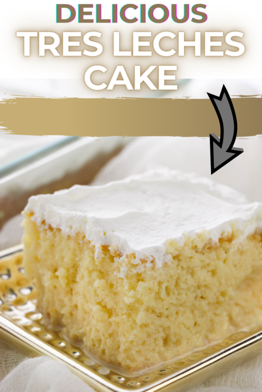 The taste and flavor of this Tres Leches Cake will make you want to skip dinner and just head straight into dessert. This delicious latin dessert recipe will become a favorite in your home.  Not only is it rich and wonderful, but it's dense and moist as well. It's one dessert recipe that you just might break the rules for.