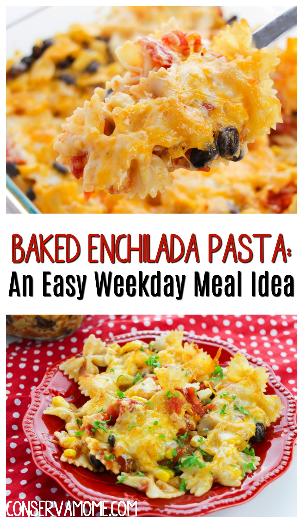 Baked Enchilada Pasta: An Easy Weekday Meal Idea