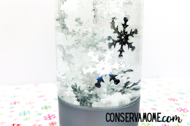 Winter Snowflake Sensory Bottle