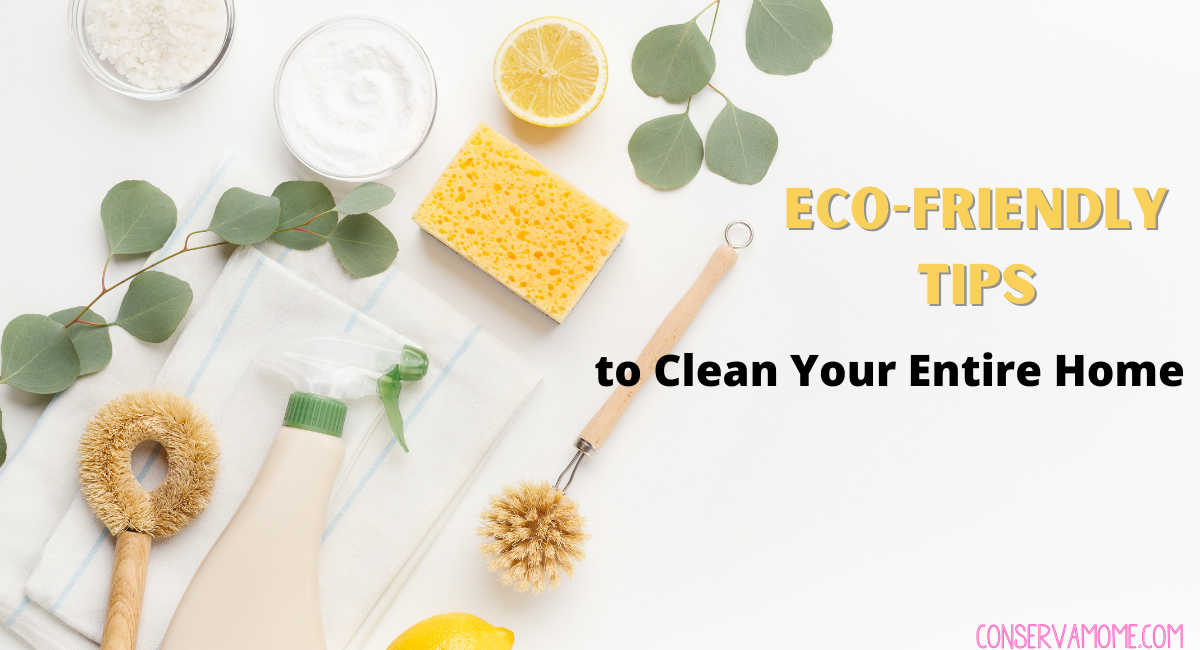 Eco-Friendly Tips to Clean Your Entire Home