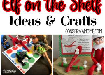 Elf on the Shelf Ideas and Crafts