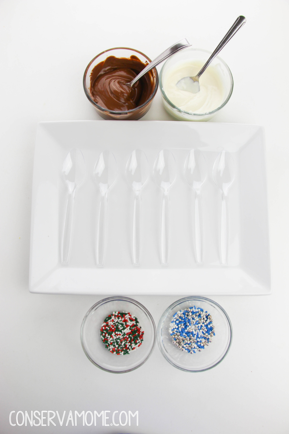 How to make Chocolate Spoons- A fun Holiday Gift Idea