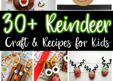 Reindeer Craft & Recipes for kids
