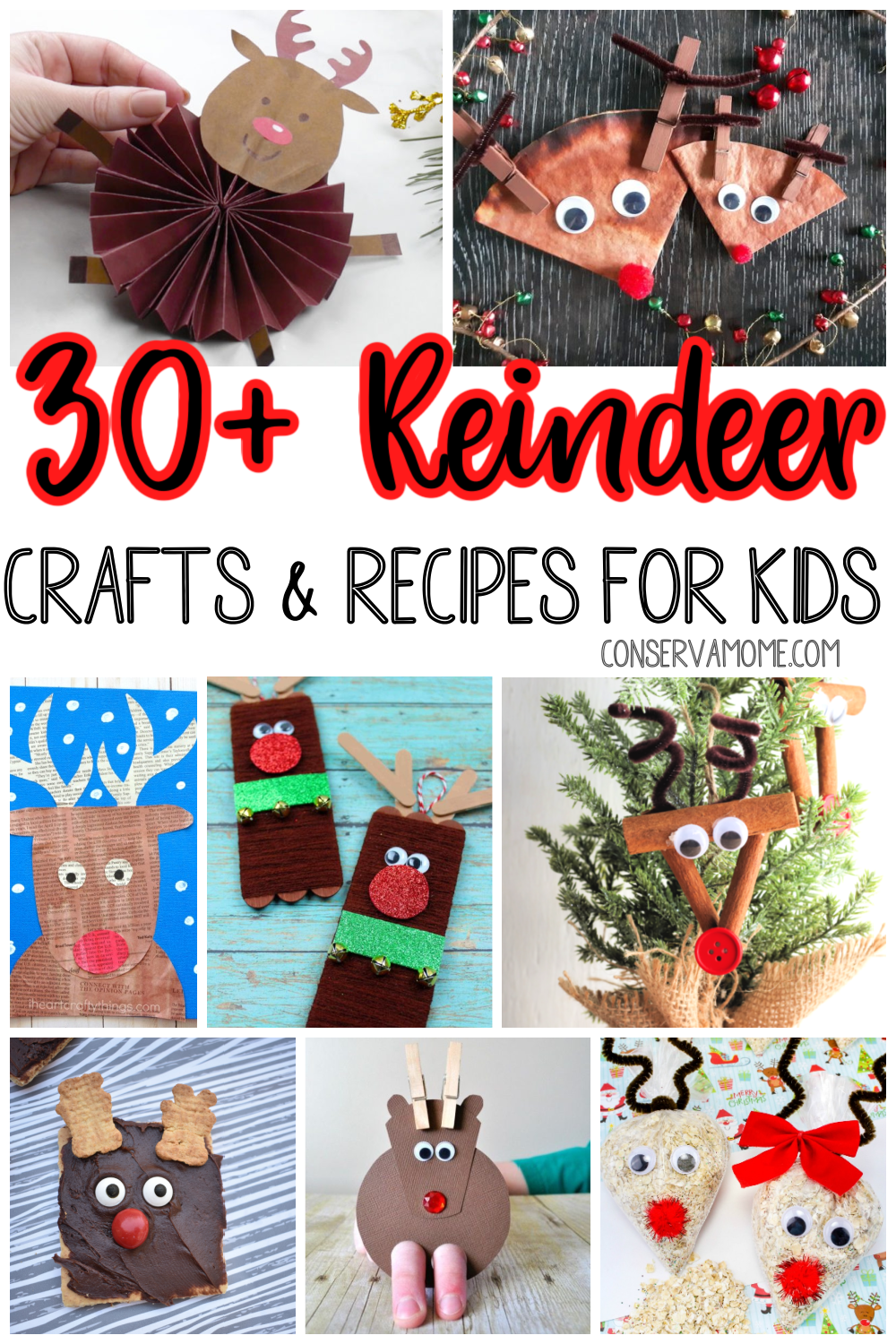 Reindeer crafts and recipes for kids
