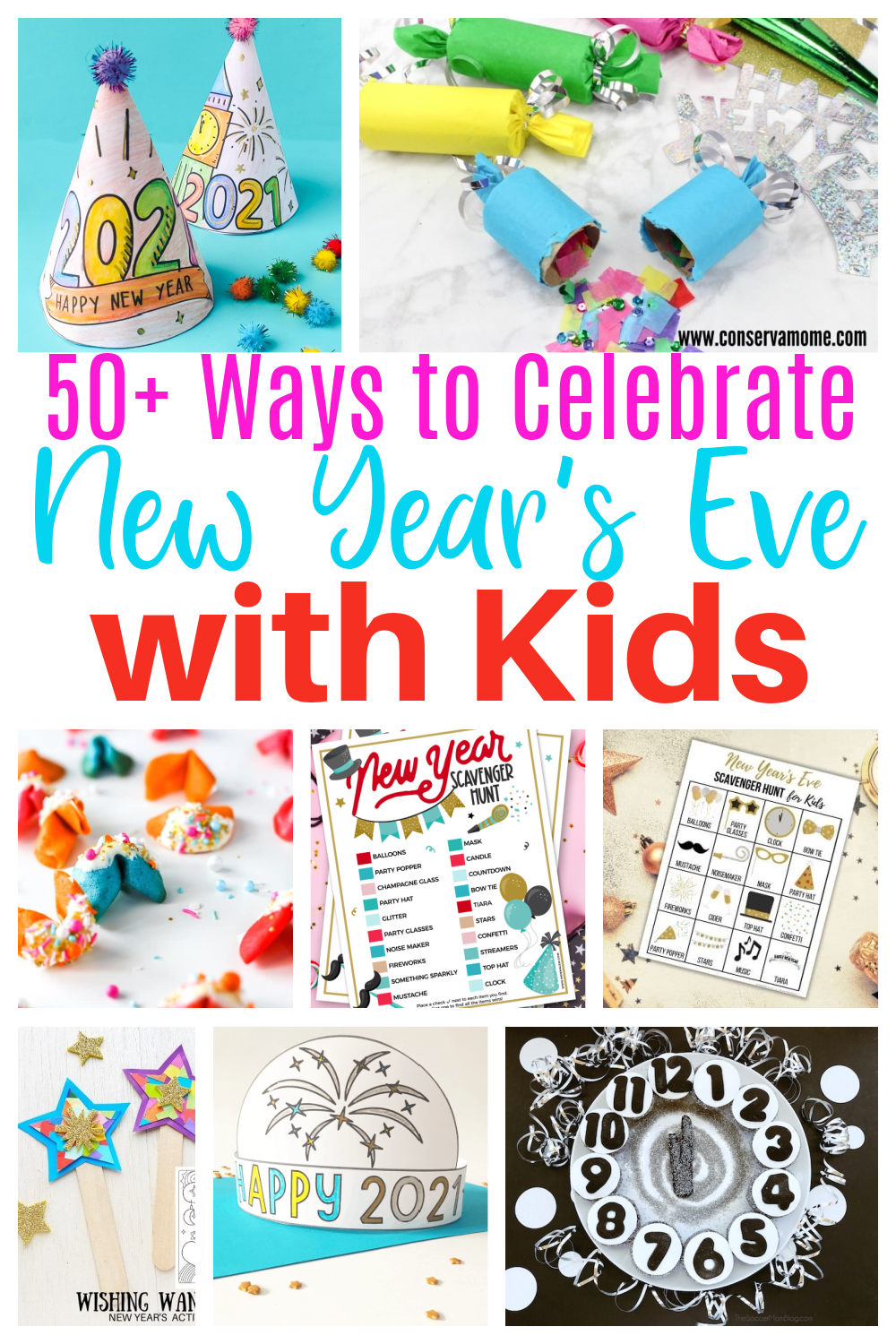 50+ Ways to celebrate New Year's Eve With kids
