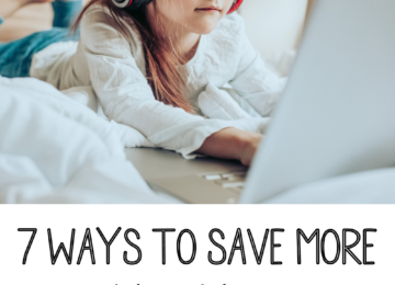 7 Ways to save more money as your kids attend online school