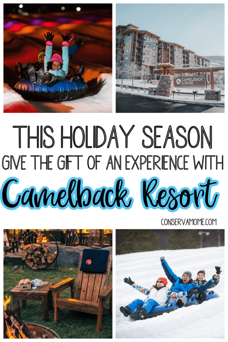 Give the gift of an experience with Camelback Resort