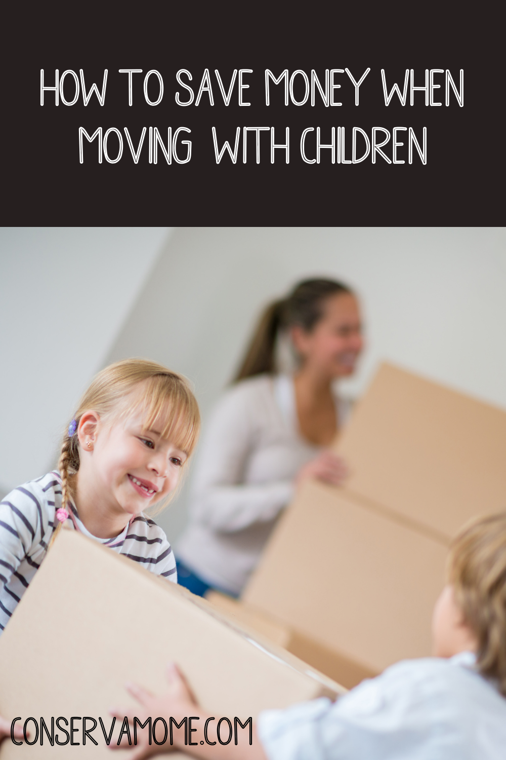How to save money when moving with kids