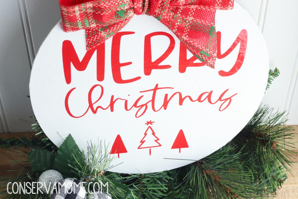 Dollar Tree Christmas Sign