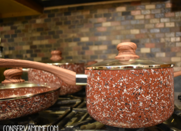 5 Reasons to own the Koch  Systeme  Red Granite Non Stick Cookware Set