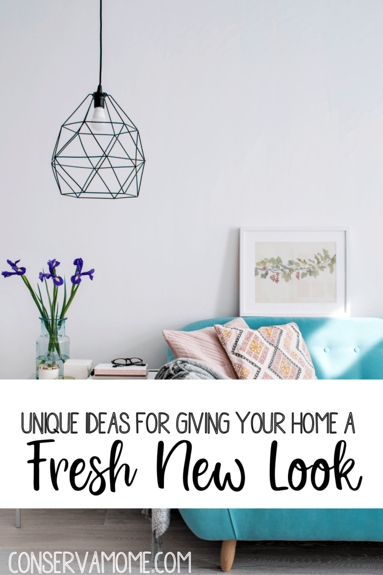 Unique Ideas for Giving Your Home a New Fresh Look