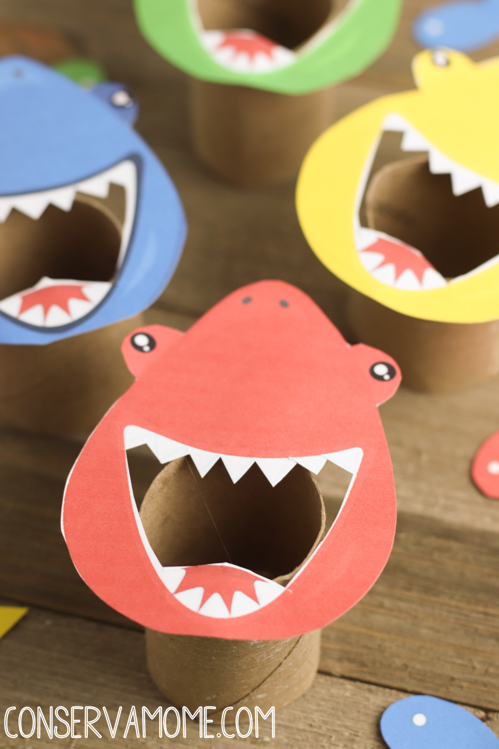 Feed the Shark Color Sorting Game: Ocean Themed learning game